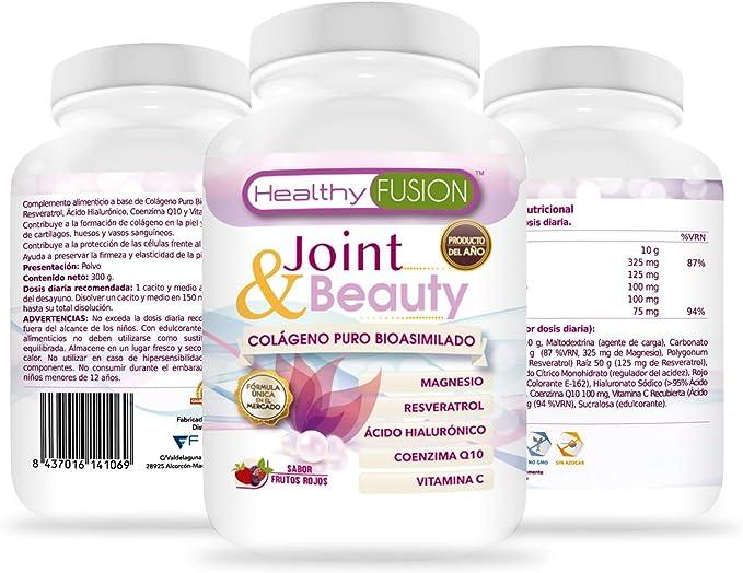 Colágeno en polvo con magnesio y ácido hialurónico | Coenzima Q10 ...