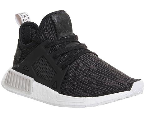 5bdf99d56a335 adidas Women Shoes Sneakers NMD XR1 Primeknit Black 40  Amazon.co.uk ...