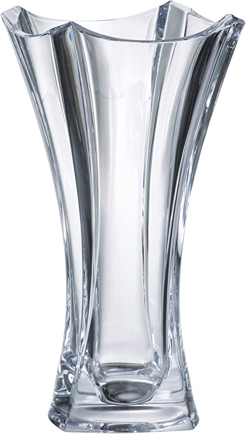 Majestic Gifts Rectangle Vase Crystalline 10