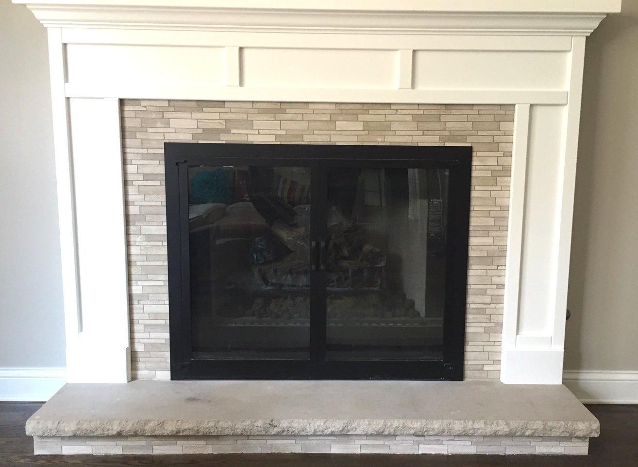 Wallandtile White Oak Lazy Brick Marble Mosaic Tile