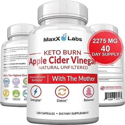 pastillas de vinagre de sidra de manzana y dieta cetosis