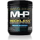 MHP, Reckless Pre-Workout, Blue Slushy, 5.15 Ounce