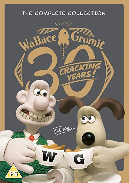 Wallace & Gromit - The Complete Collection Reino Unido DVD: Amazon ...