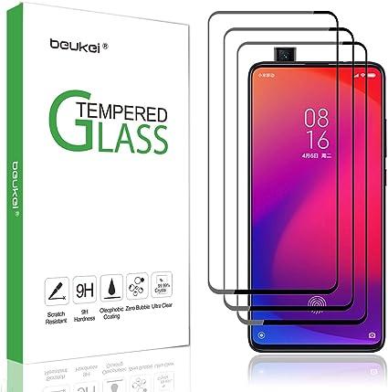 Pack De 3 Protectores De Pantalla De Vidrio Templado Para Xiaomi Mi 9t Xiaomi Mi 9t Pro Vidrio Templado Con Dureza 9h Con Garantía De Reemplazo De Por Vida