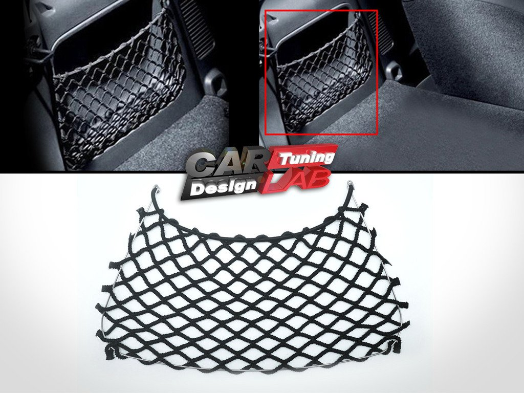 (1) hinten Trunk Net String Bag Speicher Booten Cargo Mesh fü r 451 CarLab