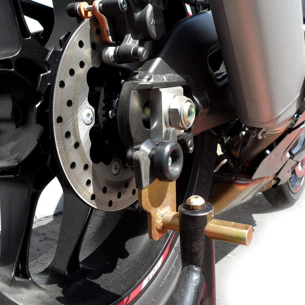 R1 Logo Chrome Swingarm Spool Sliders Motorcycle For Yamaha XV250 Virago 2007