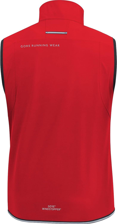 GORE R3 GORE WINDSTOPPER Vest GORE Wear Windproof Mens Running Vest 100064