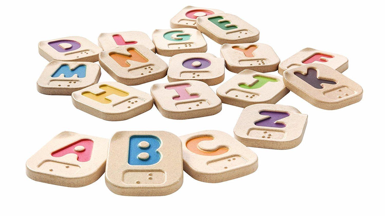 Plan Toys Braille Alphabet A-Z [並行輸入品]   B074TH7FCZ