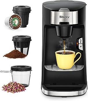 Sboly 3 in 1 Expresso And Tea Maker Espresso Machine