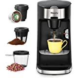 Sboly Coffee Machine 3 in 1, Tea & Coffee Maker for K Cup, Ground Coffee and Tea Leaf, Single Serve Coffee Maker Brewer…
