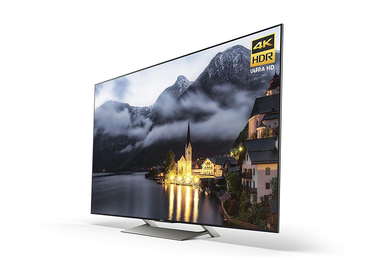 Sony XBR49X900E 4K Ultra HD Smart LED TV (2017 Model), Works with Alexa 3