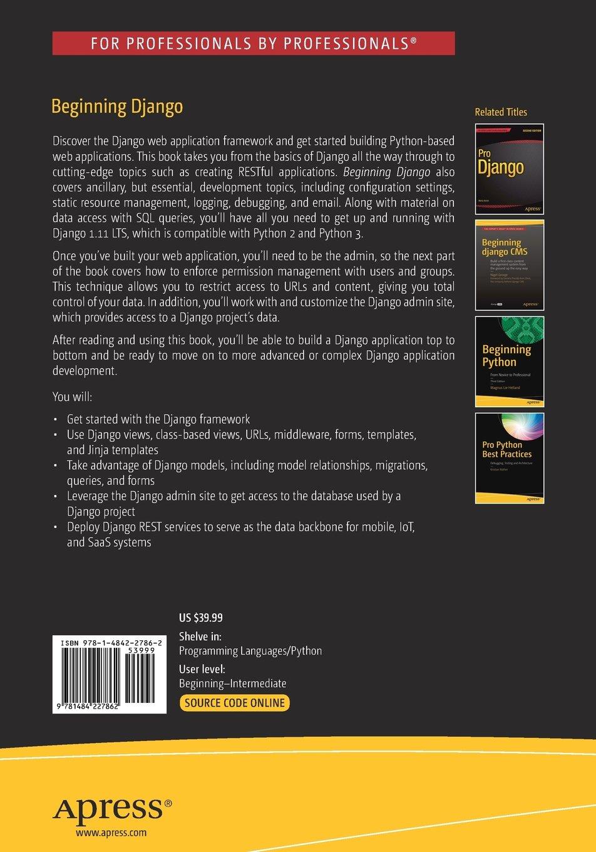 Beginning Django: Web Application Development and Deployment with ...