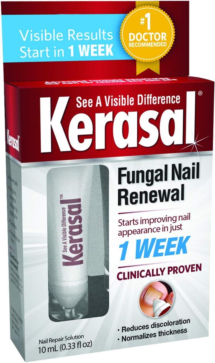 kerasal tratamiento anti-hongos de renovación de uñas 10 ml