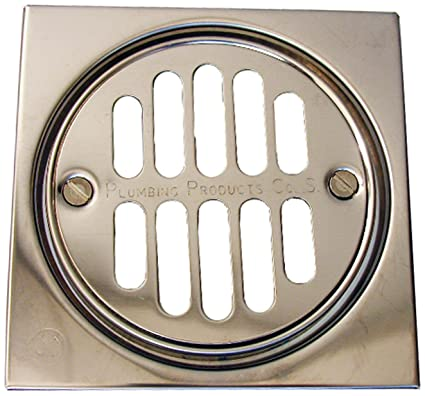 Etonnant LASCO 03 1245 Shower Drain Trim Kit With 3 3/8 Inch Grid