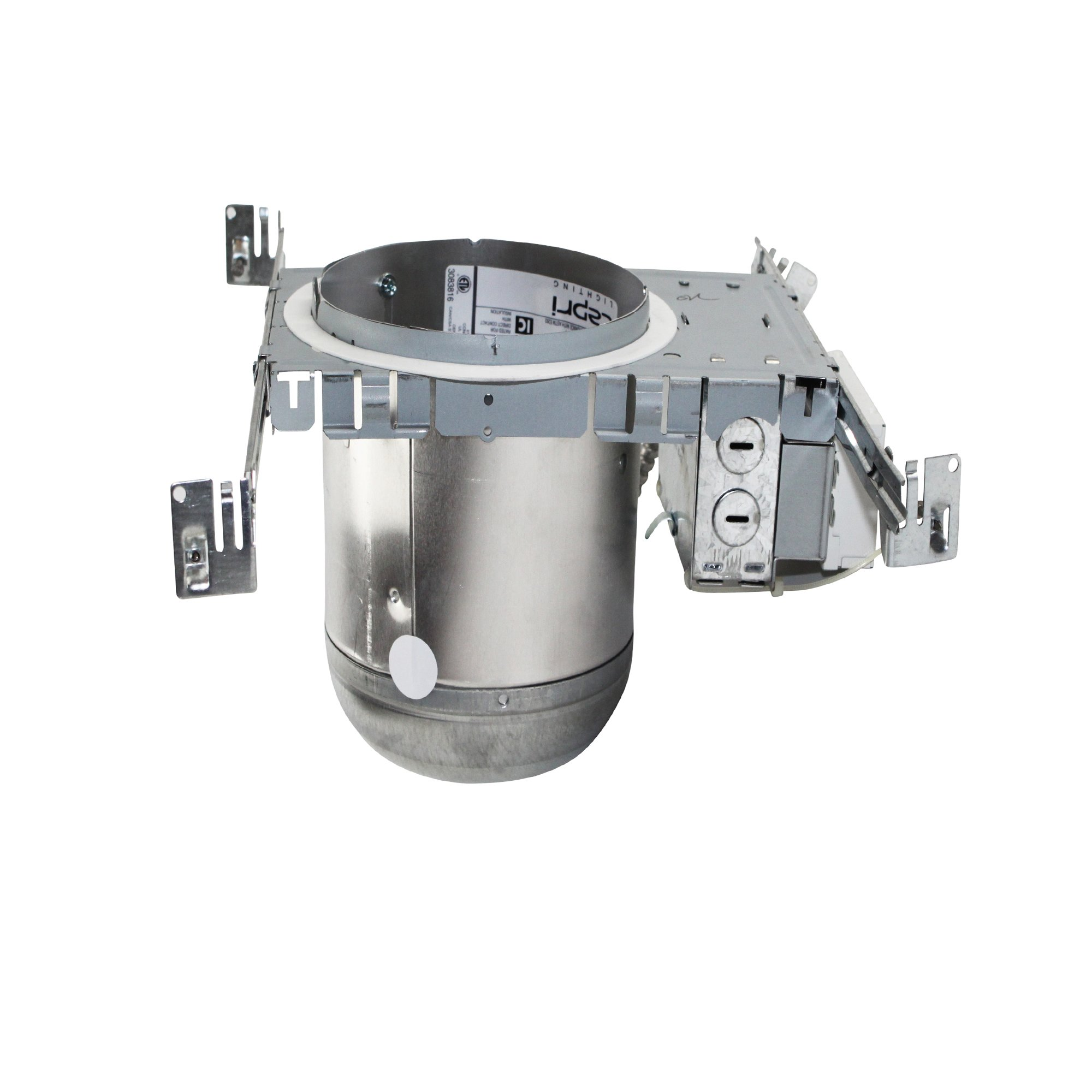 Capri Philips 6'' CFR6V Vertical Non-IC Rated/ Cfl Downlights, New Construction CFL Downlights Recessed Housing Air-Tite