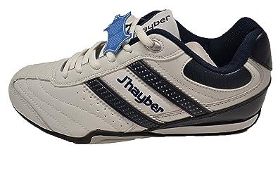 JHayber Wabra - Zapatillas deportivas de piel para hombre. Talla 39: Amazon.es: Zapatos y complementos