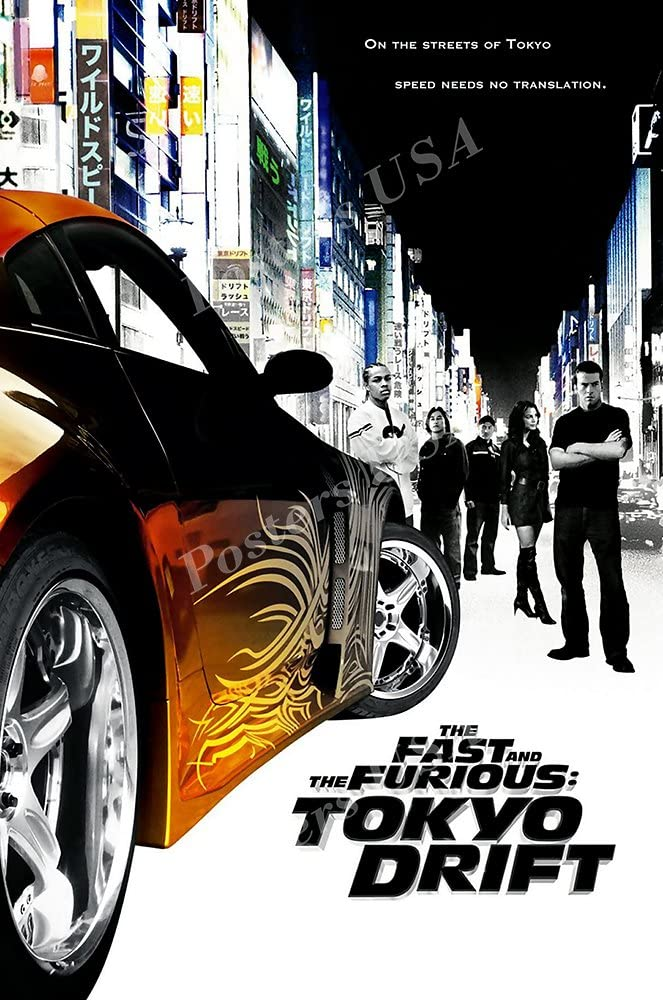 Posters USA - Fast and Furious 3 Tokyo Drift Movie Poster Glossy Finish - MOV280 (24
