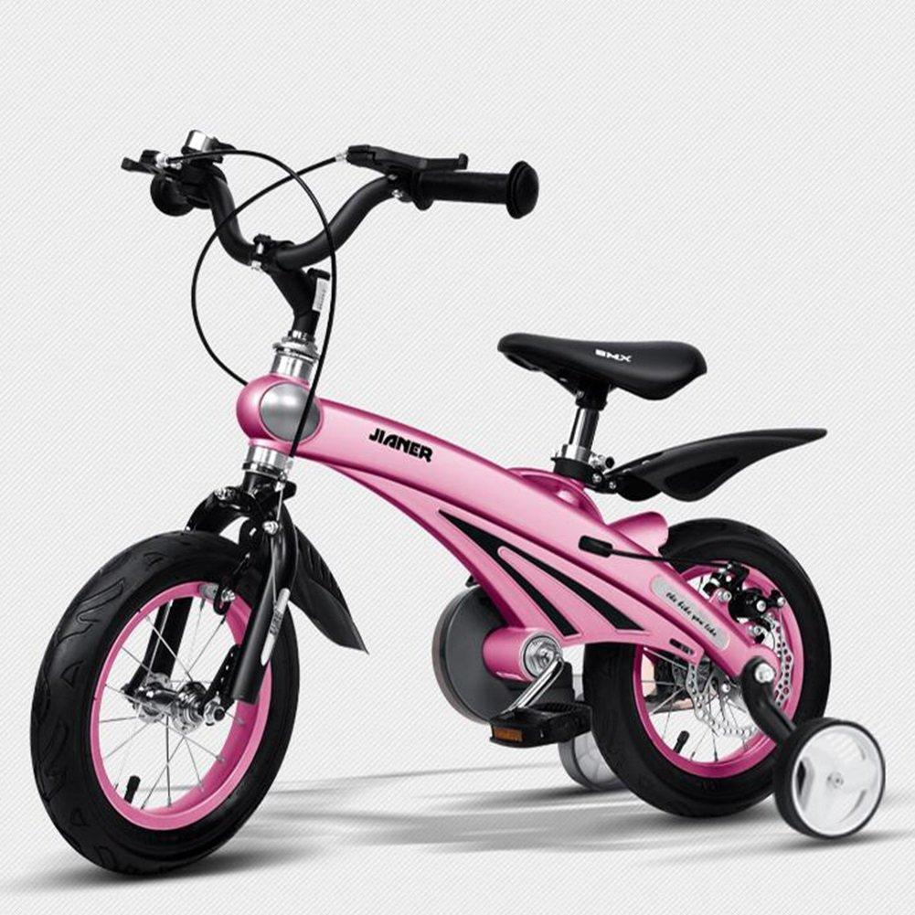 XQ 子供用自転車3歳男女用自転車2-4-6歳のベビーキャリッジ12/14/16インチ子供用サイクリング 子ども用自転車 ( 色 : ピンク ぴんく , サイズ さいず : 12inch ) B07CCH4GYF 12inch|ピンク ぴんく ピンク ぴんく 12inch