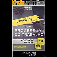 Princípios do Direito Processual do Trabalho: Concursos Públicos (Direito Processual por TEMAS Livro 2)