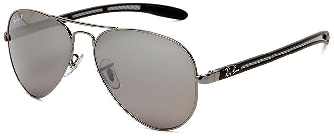 9ddd6915b2 Ray-Ban Sunglasses (RB 8307 004 N8 55)  Amazon.co.uk  Clothing