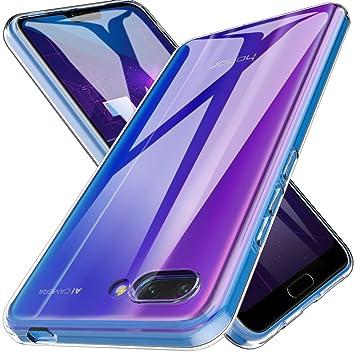 410b61e6fe7 LK Funda para Huawei Honor 10, Carcasa Cubierta TPU Silicona Goma Suave  Case Cover Play Fino Anti-Arañazos: Amazon.es: Electrónica
