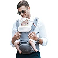 Bebamour Baby Carrier with Hip Seat for All Seasons