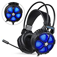 EasySMX Stereo Gaming Headset for PS4 PC