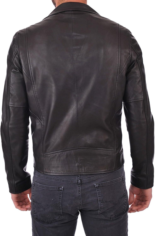 Mens Stylish Lambskin Genuine Leather Jacket 274