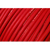 TEMCo WC0413-25 ft 1/0 Gauge AWG Welding Lead & Car Battery Cable Copper Wire RED | MADE IN USA