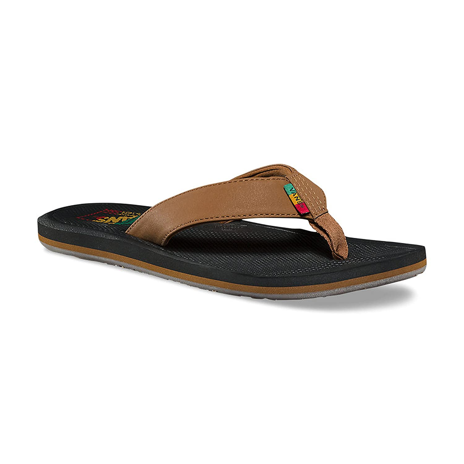7428b83969a2 Vans Men s Nexpa Synthetic Dachshund Black Rasta Vn0a347qq3z Flip-Flops  Dachshund Black Rasta 13 D(M  Buy Online at Low Prices in India - Amazon.in