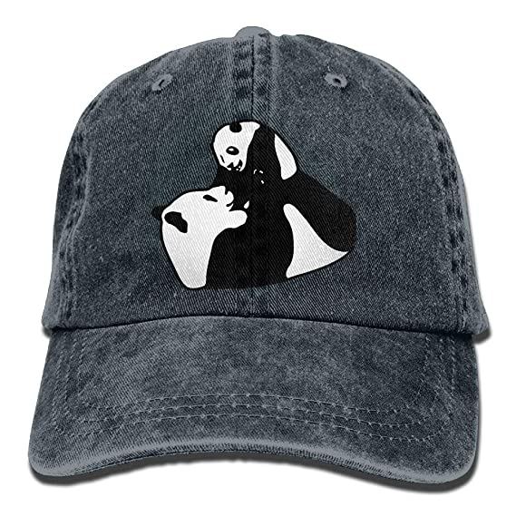 350b38f6 Fricansy Pandas Father and Son Unisex Adjustable Cowboy Baseball Caps Dad  Hat Trucker Hat: Amazon.es: Deportes y aire libre