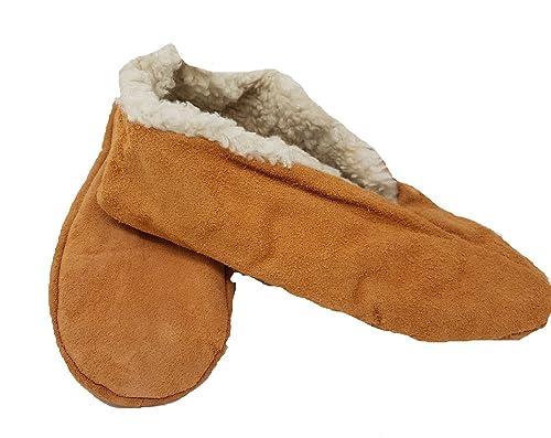 Mum Socken - Mocasines de Piel para Hombre Beige Beige: Amazon.es: Zapatos y complementos
