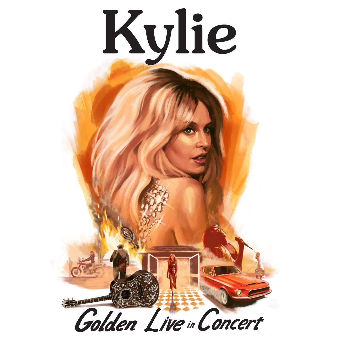 Kylie Minogue - Kylie - Golden - Live In Concert : Kylie Minogue ...