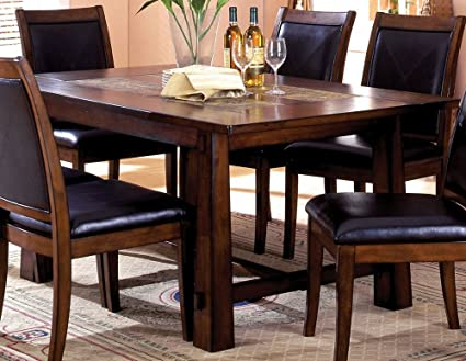 Amazon Com Cm3590t Living Stone Stonetop Dining Kitchen Table In