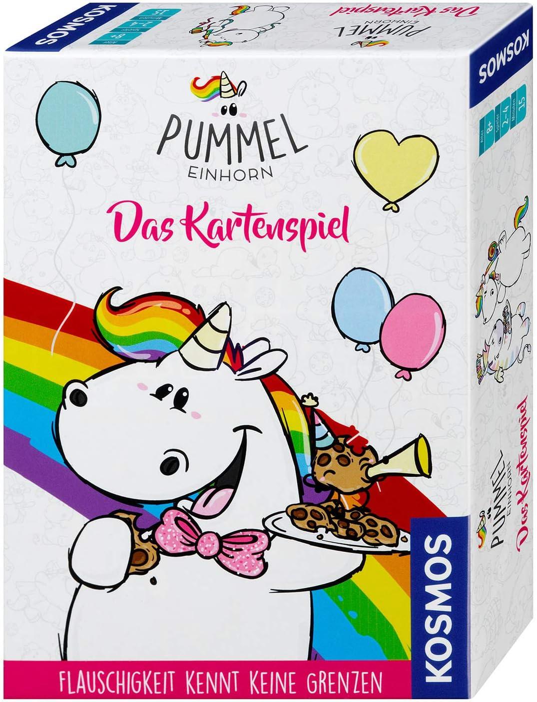 KOSMOS Kinderspiele Pummeleinhorn Das Kartenspiel Karten Spiel Einhorn 697785