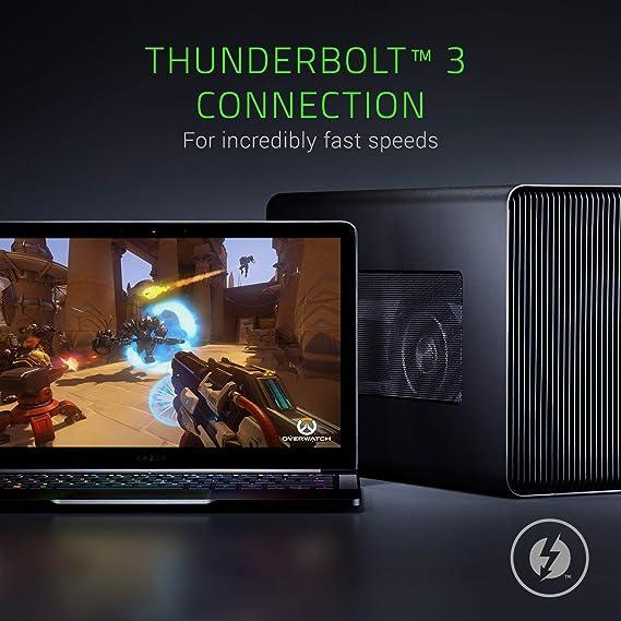Razer Core X - Carcasa de Tarjeta gráfica Externa con Thunderbolt ...