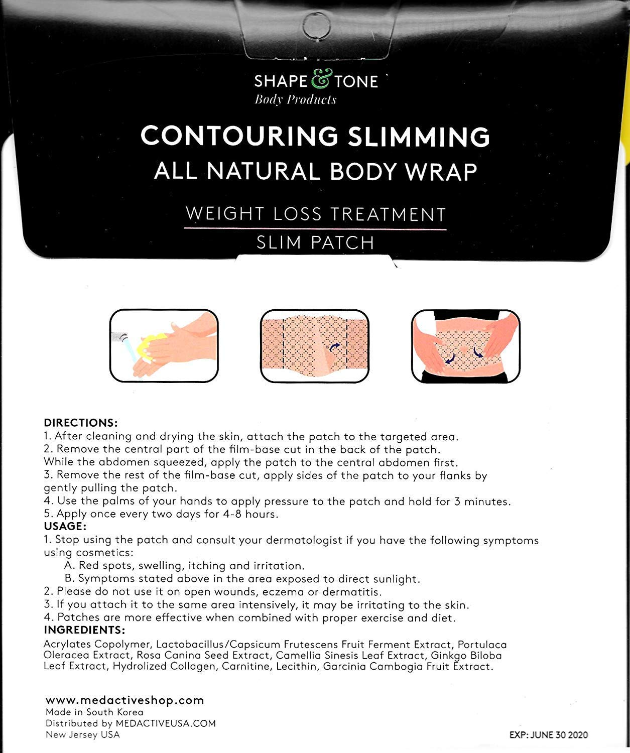 Ultimate Toning and Firming Body Applicator ... (12 WRAPS) by Shape and Tone Body Products