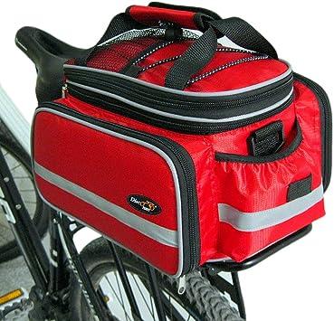 Bolsa Disc-nan, para bicicleta, con funda impermeable, rojo ...