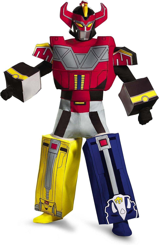 Disfraz DI55626-L Mens Power Rangers Megazord adultos traje Tama-o ...