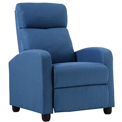 Outstanding Recliner Chair For Living Room Recliner Sofa Reading Chair Winback Chair Single Sofa Home Theater Seating Modern Reclining Easy Lounge With Fabric Frankydiablos Diy Chair Ideas Frankydiabloscom