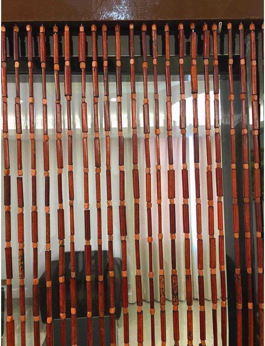 Taille : 0.9x1.8m WUFENG Rideau Perle Rideau Bambou Salon Restaurant Couper Suspendu Personnalisable Originale Bambou 4 Tailles