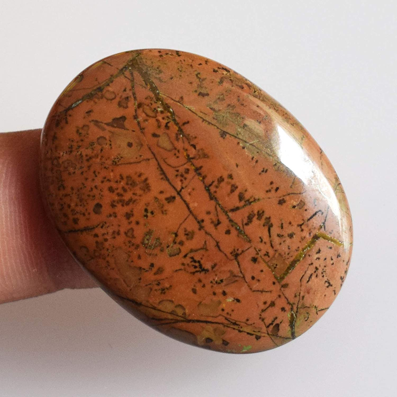 Natural Swiss Opal Jasper Cabochon Semi Precious Swiss Opal Gemstone Top Quality Stone 71carat 58x32x5mm