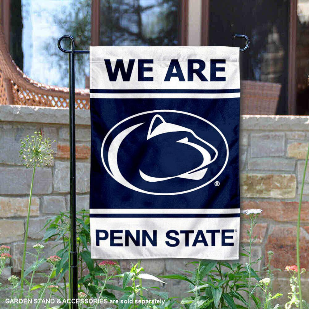 College Flags and Banners Co. Penn State Nittany Lions WE are Penn State Garden Flag