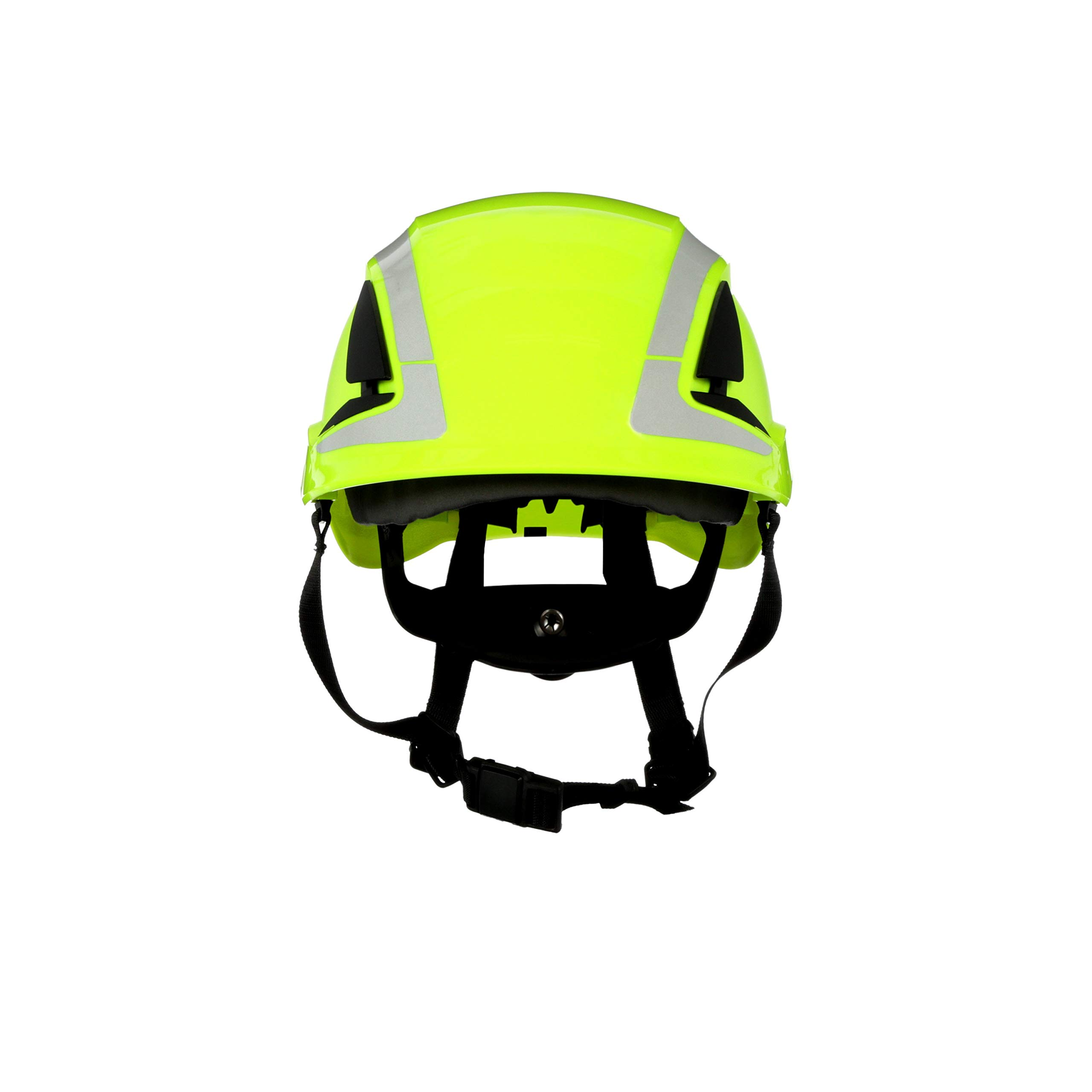 3M SecureFit Safety Helmet, X5014X-ANSI, HVGreen