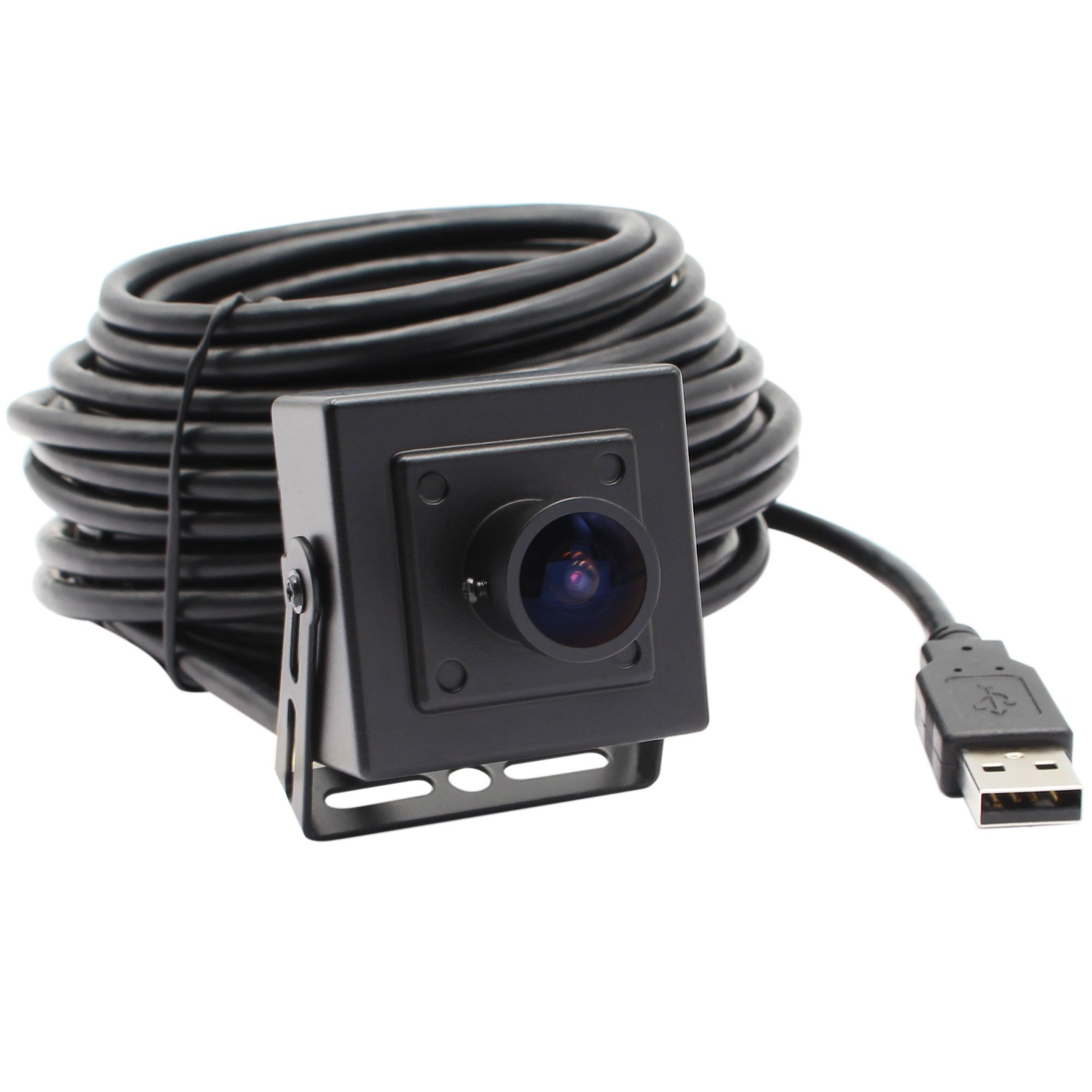 ELP 170 degree megapixel fisheye lens 5.0 megapixel usb camera with aptina cmos sensor and aluminum mini case