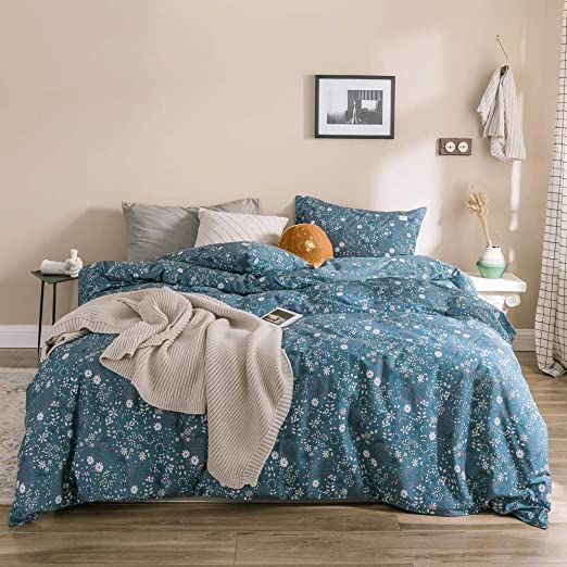 Amazon.com: OTOB Reversible King Size Bed Floral Comforter Cover