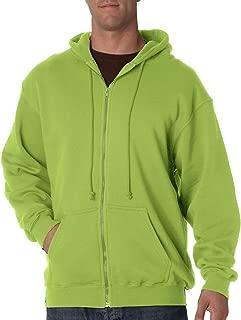 product image for Bayside Men's Heavyweight Full Zip Hooded Sweatshirt