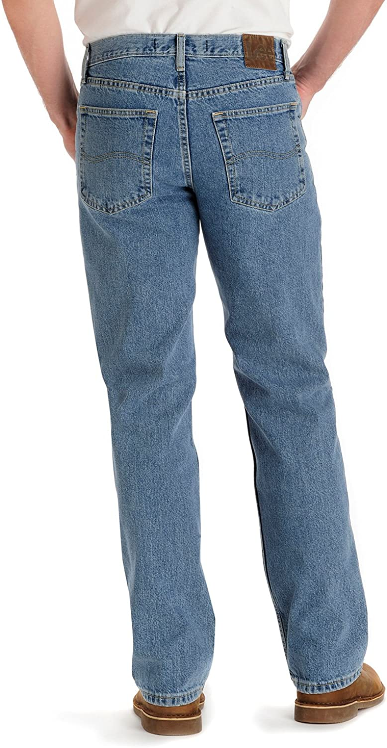 Lee Men's Regular Fit Straight Leg Jean Vintage