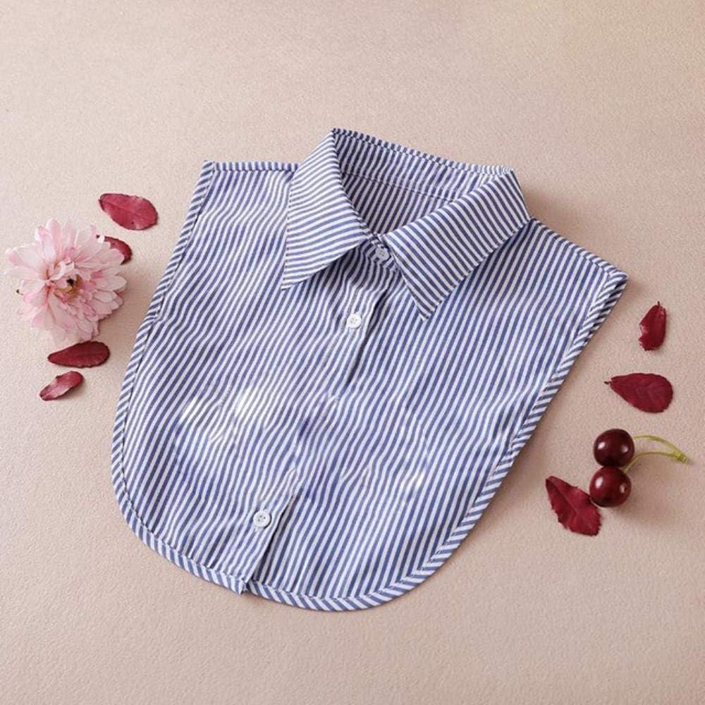 Collares desmontables para mujeres blancas camisas falsas cuellos negros falsos collares para mujer 27: Amazon.es: Hogar