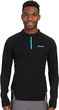 ASICS Men's Fujitrail Long Sleeve 1/2 Zip Top